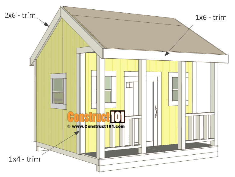 Playhouse plans - trim.