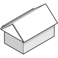 Box Gable Roof